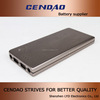 12000mah power bank with ce rohs extenal battery aluninum design 5V/12V/16V/19V/2.5A 12000mah power bank with ce rohs