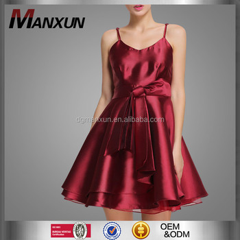 Mooie Rode Jurk.Nieuwe Mode Meisje Jurk Mooie Tiener Verjaardagsfeestje Jurken Rode