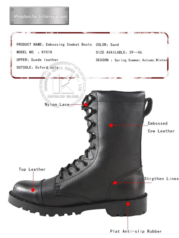 Echt Lederen Heren Waterdicht Leger Laarzen Combat Laarzen