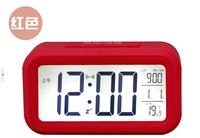 Low Price OEM Wholesale Time Desktop Desk LCD Digital Alarm Clock