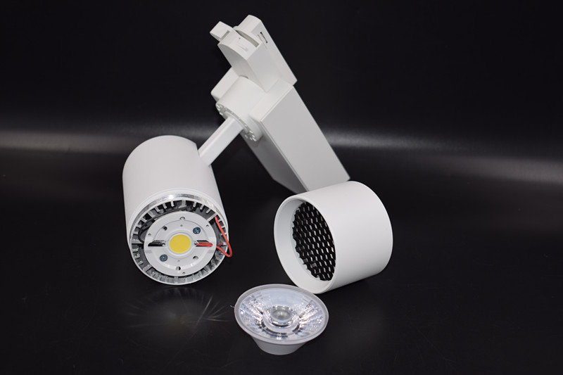 Chinese Factory zoomable indoor storefront led lights led track light
