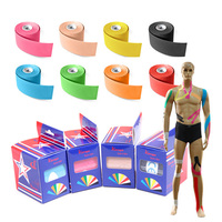 5cmx5m super stick elastic bandages Relief For a Sore Muscle? Kinesiology Taping!