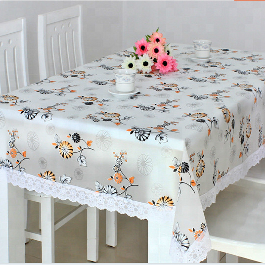 Printed Plastic Tablecloth Rolls