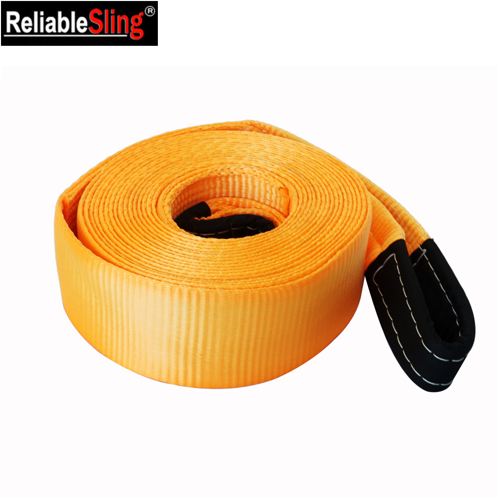 "4"" Width Towing Recovery Car Vehicle 30000 LB Tow Strap"
