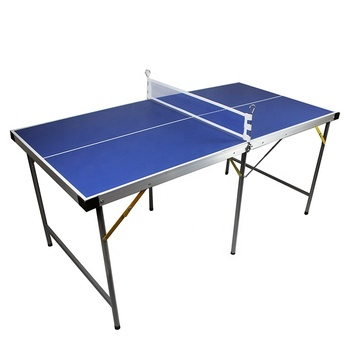 latest design Portable Folding Ping Pong Table Indoor Mini Table Tennis Table