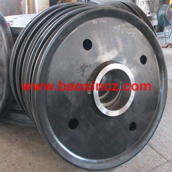 Wire Rope Sheave For Port Container Crane - Buy Wire Rope Sheaves ...
