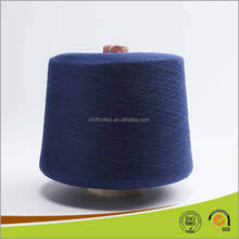 Dyed Spandex Core Spun Covered Cotton Yarn for Knitting Socks