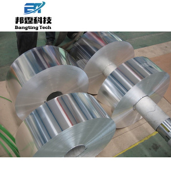 High quality Soft Alloy aluminum foil 8011 heat seal lacquered /hydrophilic jumbo roll coated aluminium foill with low price
