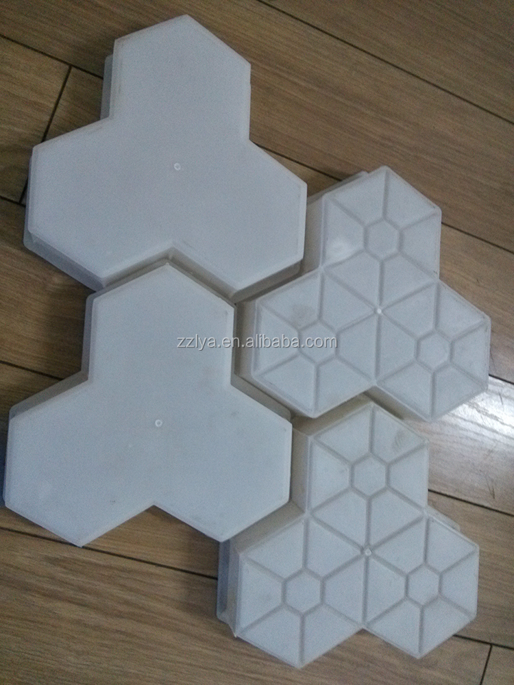 Pavement Plastic Concrete Roof Tiles Custom Mold Design ...