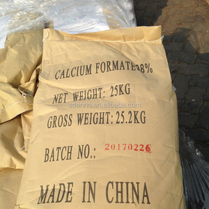 white powder free-flowing Formate Calcium 98% for mortar CAS No.544-17-2