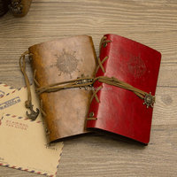 Hot sale spiral leather cover travel note book