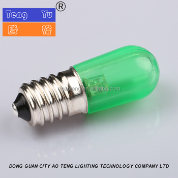 colorful christmas papaya e14 replacement led bulbs 05w b19