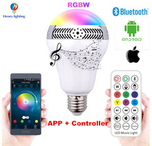 Shenzhen Led Bulb Energy Saving Bluetooth Smart Led Light Bulb Remote Control Led Magic Bulb