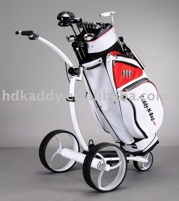 Wave vorm Elektrische Golf Caddy