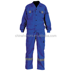 100 cotton labor men cotton blue coveralls work uniform