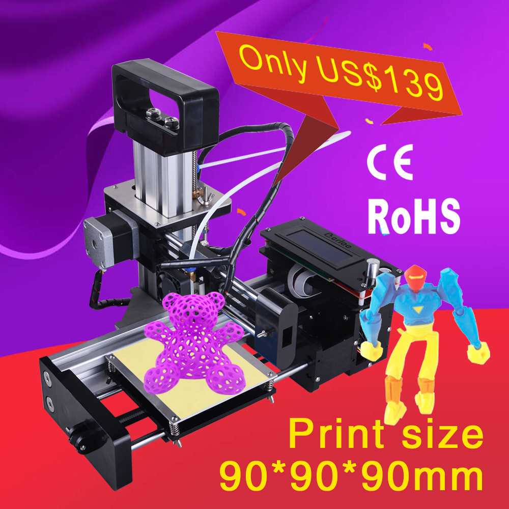 Most affordable auto leveling prusa i3 3d printer kits for sale
