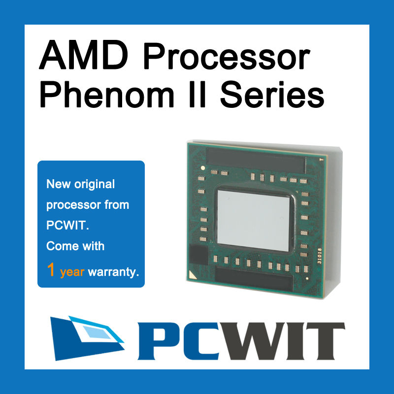 AMD Phenom II Quad-Core Mobile N970 2.2 GHz Quad-Core Quad-Thread CPU Processor HMN970DCR42GM Socket S1