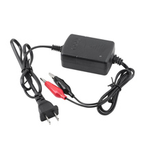 12V Automatic Battery Float Charger With Copper Clamps For 5 to 12Ah SLA Gel batteries