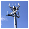 High quality galvanized telecom towers