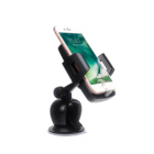 Logo Print Windshield Dashboard Mobile Suction Cup Mount Car Phone Mount Holder Cradle for Smartphones