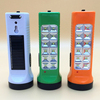 GG-637 1W and 12SMD LED solar rechargeable flashlight
