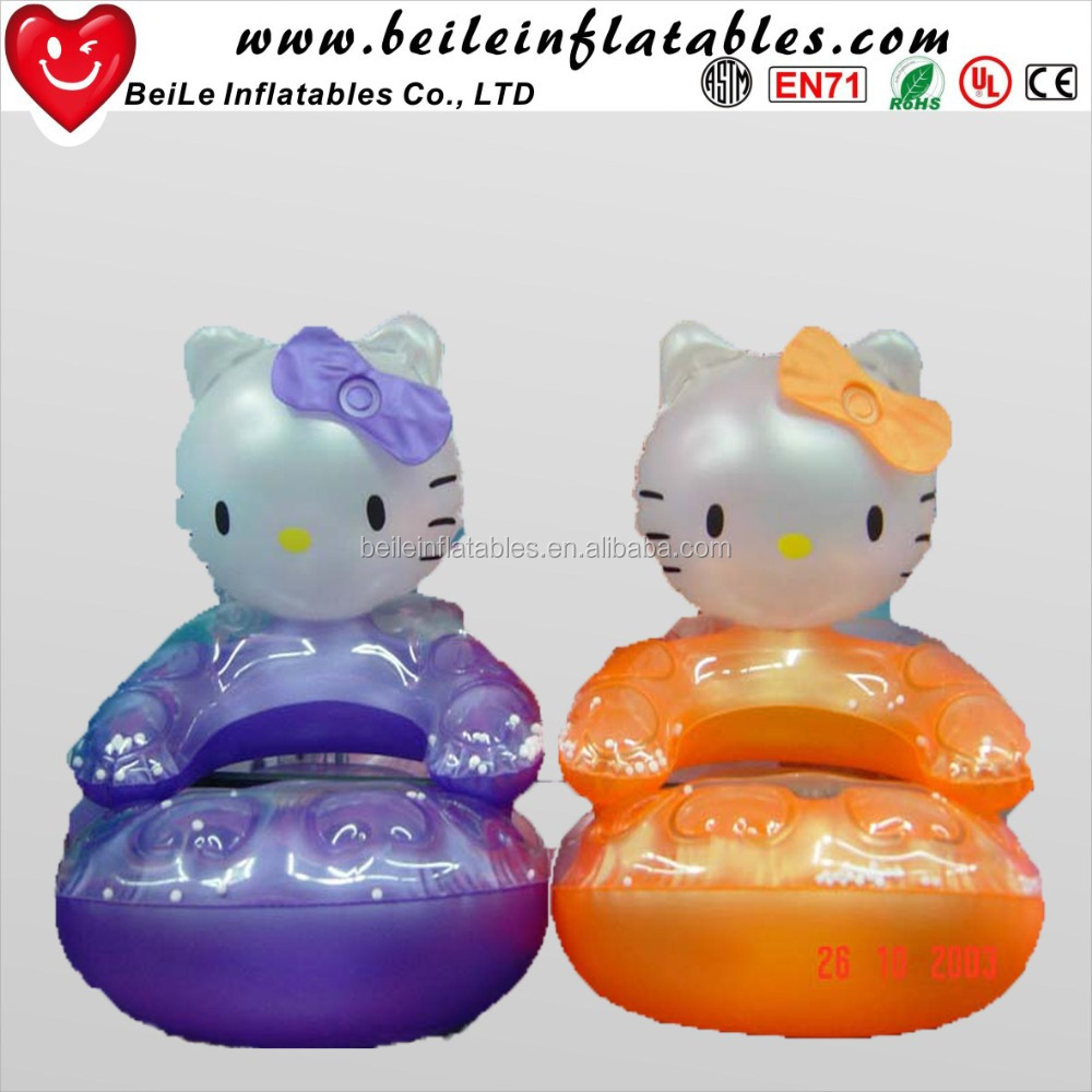 2017 trending products inflatable bed lay beany air sofa hello kitty sofa