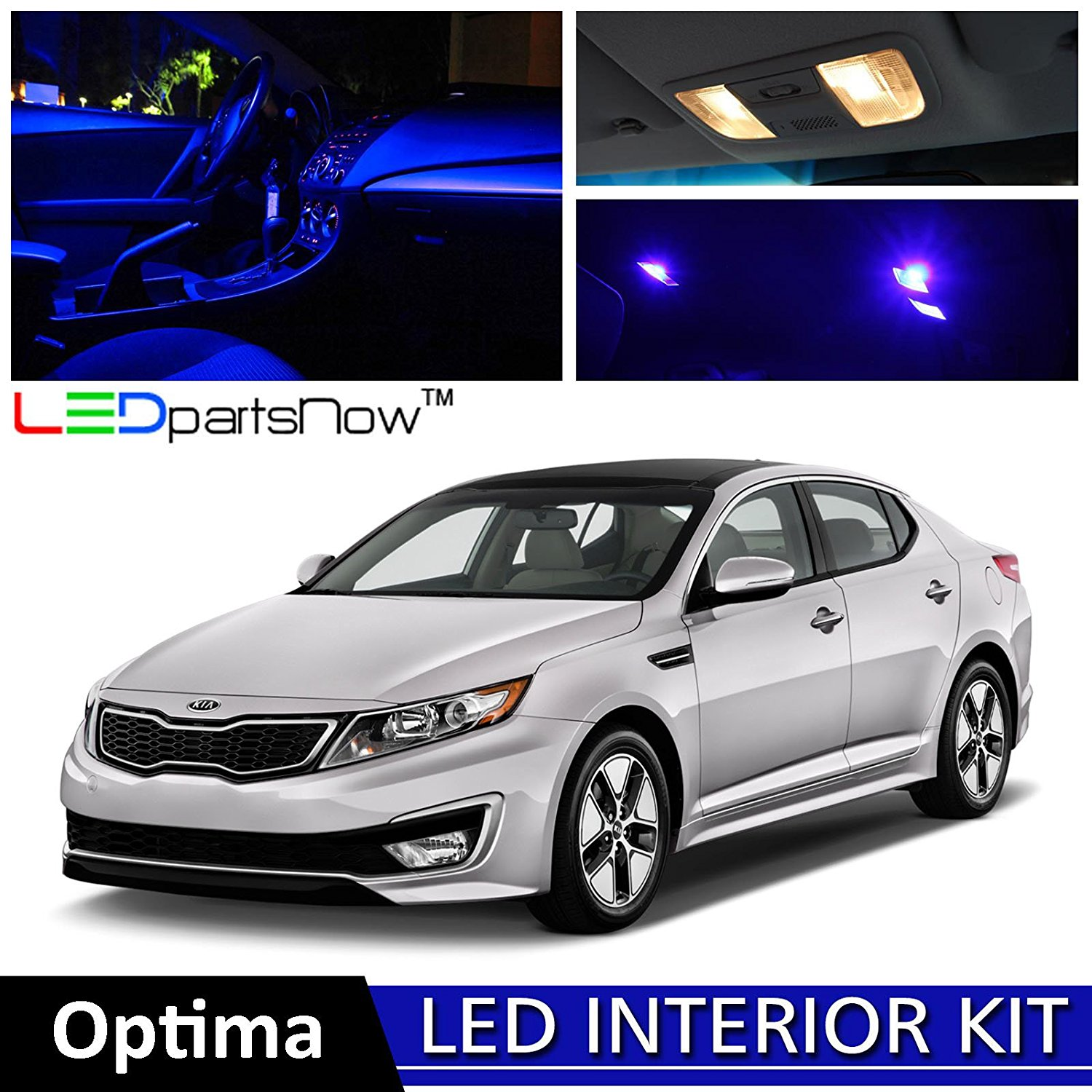 Get Quotations Ledpartsnow 2017 Kia Optima Led Interior Lights Accessories Replacement Package Kit Reverse