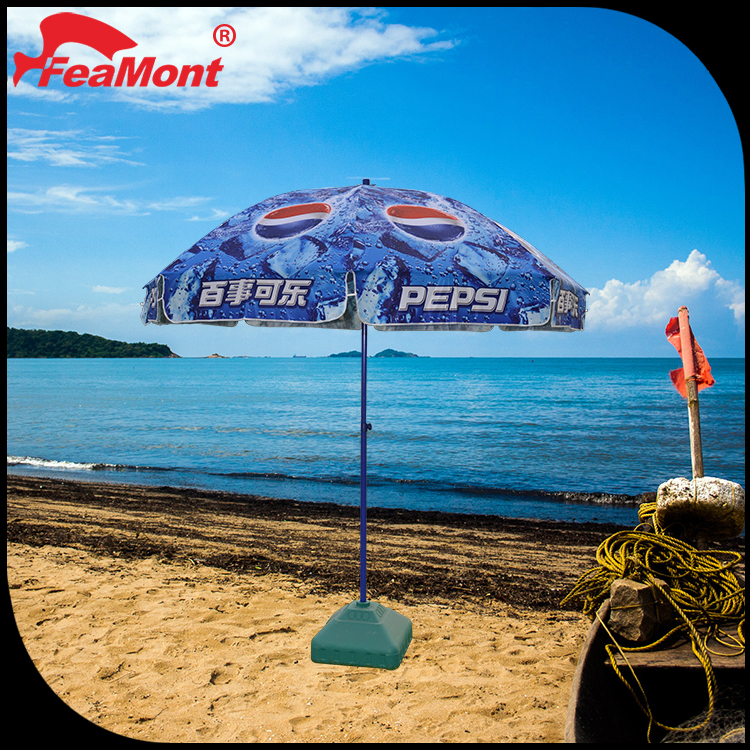 National flag beach umbrella for ball games for Volleyball advertising