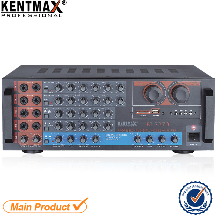 Durable USB SD 220V 240V 120W Harga Power Speaker Amplifier