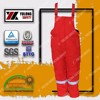 Factory Direct Sale Red Reflective Tape Fire Retardant Safety Overalls