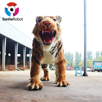 Zoo decoration novelty direct factory made shopping mall tiger statue