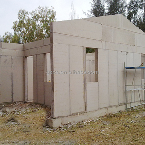 China cheap small prefab steel structure EPS cement wall concrete house