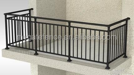Simple Steel Balcony Grill Designwrought Iron Balcony Railing