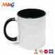 Good sale circle white sublimation ceramic mug for drinking