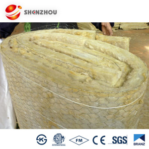 Waterproof Rockwool Insulation Blankets 120mm thickness 100kg/m3