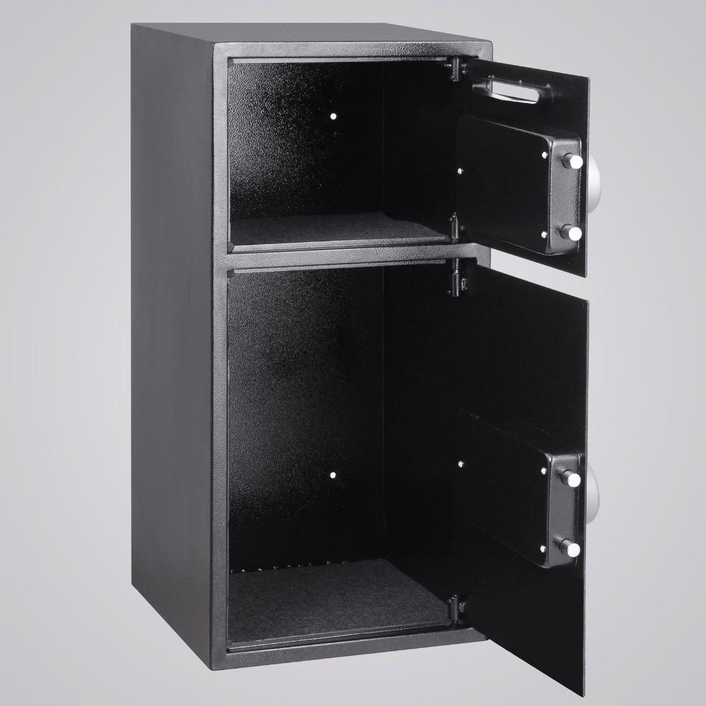 Vevor s curit coffre fort double porte num rique safe d p t pour l 39 argen - Porte de coffre fort ...