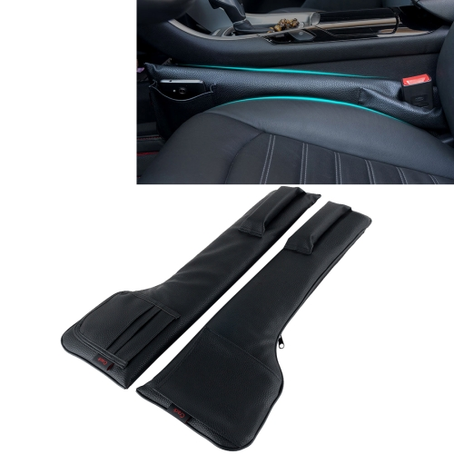 Een Paar Universele Autostoel Catcher Kloof Console Filler Seat Side Pocket Organizer