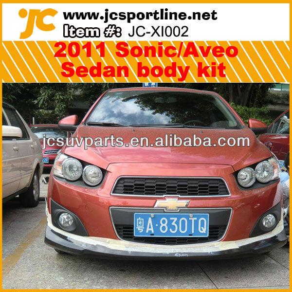 Pu Sedan Sonicaveo Body Kit For Chevrolet