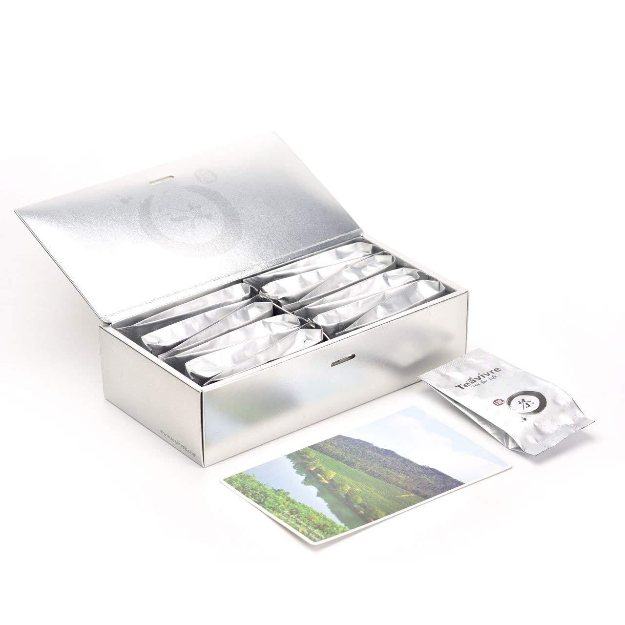 Teavivre Featured Tea Sampler Gift Assortment - Classic Tea Variety Gift Box