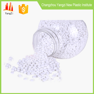 Plastic raw materials white pp masterbatch