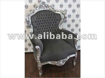 Fauteuil Neo Rococo Modern Silver Baroque Furniture Buy Handicraft