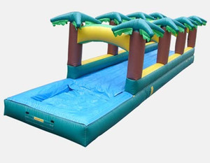 rainforest inflatable slip n slide funny inflatable water slide for sale