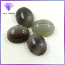 Ovc banded agate pietra naturale ovale