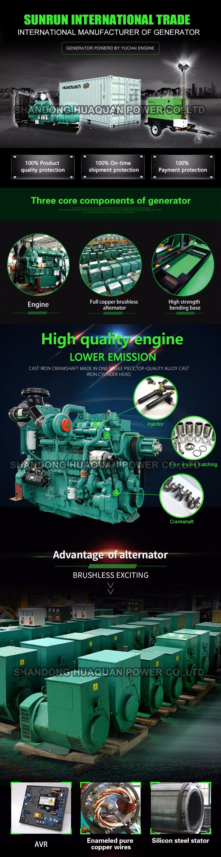 China Quality 10kw 12kva Small Silent Diesel Generator Price For