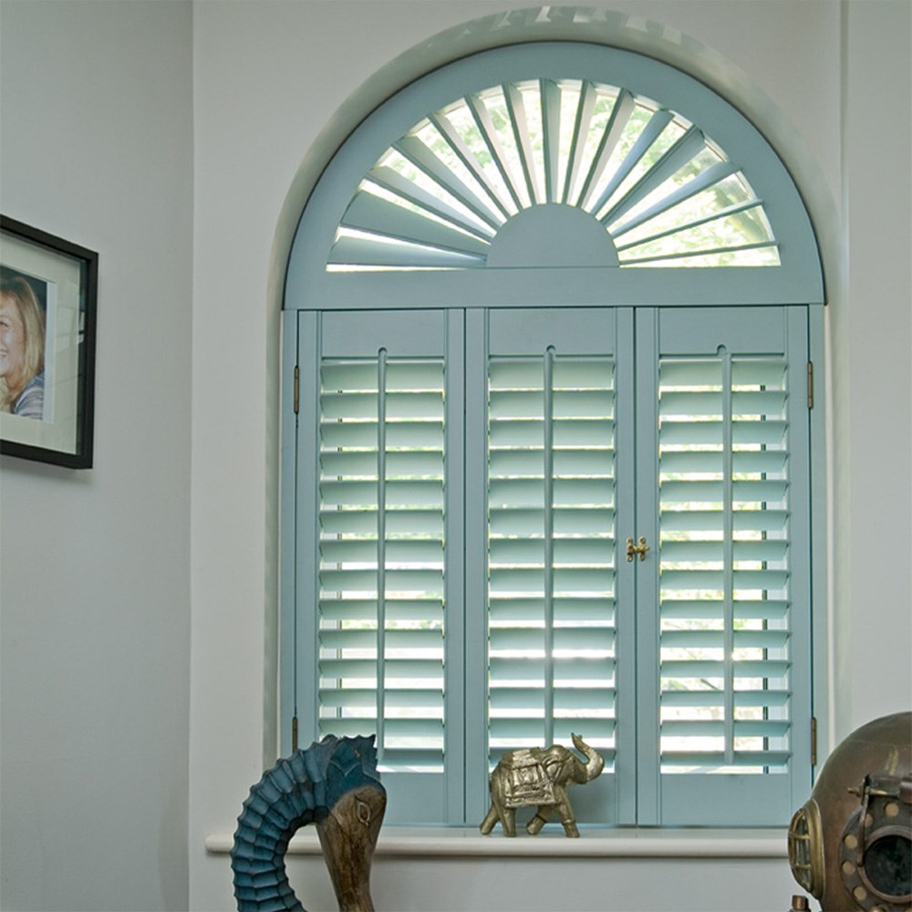 Custom Retractable Arch Blinds For Windows Blinds Eyebrow
