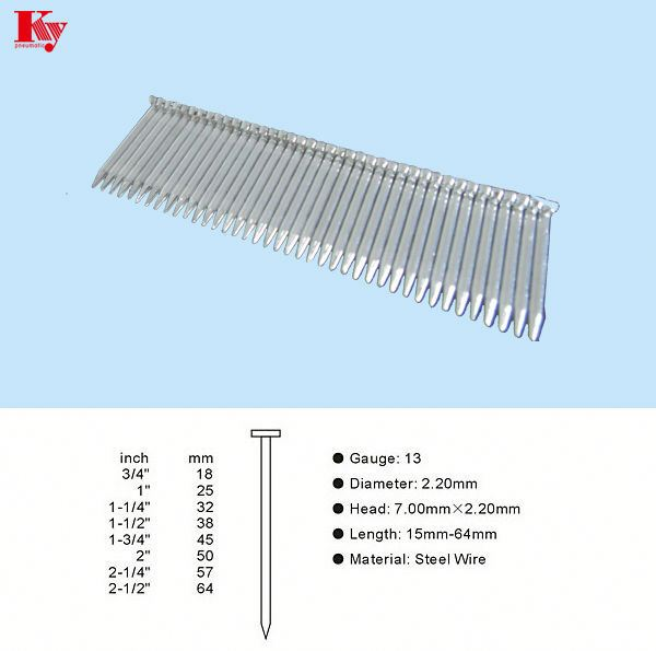 ST series concrete nail ST45 for flooring fastener