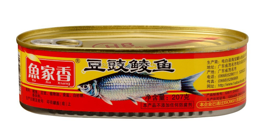 207g Canned Dace With Black Bean