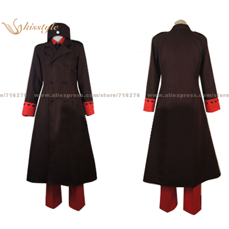 Kisstyle Fashion APH APH Hetalia: Axis Powers Denmark Uniform COS Clothing Cosplay Costume,Customized Accepted