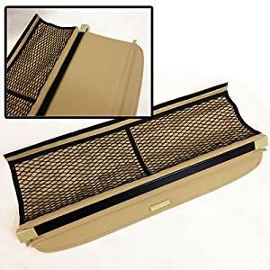08-12 Smart Fortwo Rear Trunk Roll Tan Cargo Shielding Tonneau Cover PVC Net (CTC809)
