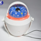 backing light illuminated marine navigation nautical boat compass magnetic compass,with bracket